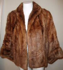 REAL FUR SWING JACKET STOLE  by EATONS FUR SALON CANADA One Size Fits Most S M L