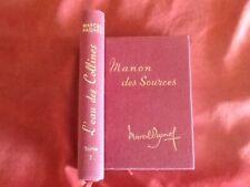 MARCEL PAGNOL - L'EAU DES COLLINES - TOME 1 & 2 - EDITION PASTORELLY EN TOILE