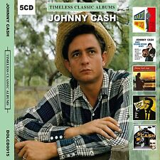 JOHNNY CASH - Timeless Classic 5 Albums (5 CD)