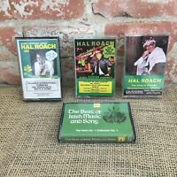 HAL ROACH IRELANDS INTERNATIONAL COMEDIAN CASSETTES TAPES & Irish music tape