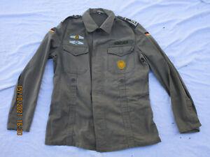 Bundeswehr Moleskin Jacke oliv,Bw Gr. 7,Marquardt/Schulz,170-180/100,von 1975