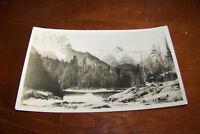 Rare Vintage RPPC Real Photo Postcard A3 Sunset Falls Washington Seattle 1915