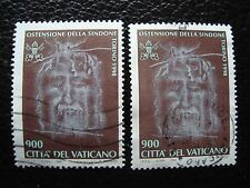 VATICAN - timbre yvert et tellier n° 1106 x2 obl (A28) stamp (O)