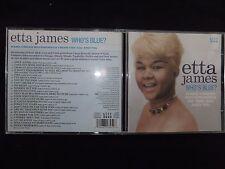 CD ETTA JAMES / WHO'S BLUE ? /