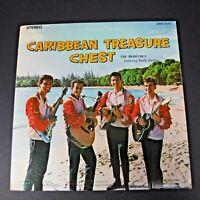 Vtg The Merrymen with Emile Straker Caribbean Treasure Chest Vinyl LP Signed