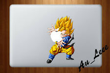 Macbook Air Pro Vinyl Skin Sticker Decal Dragon Ball Super Gotenks  2 #cmac246