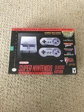 BRAND NEW SUPER NINTENDO CONSOLE SUPER NES CLASSIC EDITION SNES PRE LOADED GAMES