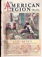 American Legion Monthly Walter Davenport Harvey Dunn Armistice  November 1928