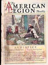 American Legion Monthly Walter Davenport Harvey Dunn Armistice  November 1928