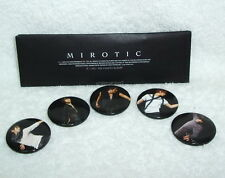 Korea TOHOSHINKI TVXQ Mirotic Taiwan 5 Buttons Badges