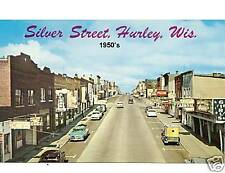 1950's Hurley, WI New! Refrigerator Tool Box Magnet Gift Card Insert
