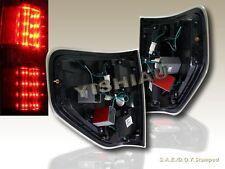 09 10 11 12 13 14 FORD F150 F-150 XL/XLT/STX/FX4 LED TAIL LIGHTS BLACK L.E.D.