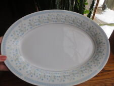 Crown Ming China Celeste pattern 10 x 14 inch Oval Serving  Platter