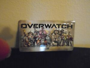 New Overwatch Blizzard License Plate
