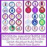 """30 Precut Steven Universe Characters & Gems 1"""" Circle Bottle Cap Images"""