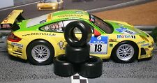 1/32 URETHANE SLOT CAR TIRES 2pr PGT-21126XD fit CARRERA Porsche 997 GT3