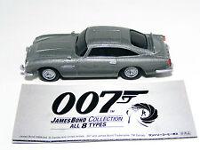 007 JAMES BOND CAR Aston Martin DB5 Silver GOLDFINGER Pullback Diecast Miniature