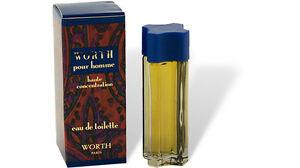 """Worth - """"pour Homme"""" Parfum Miniatur Flakon 7ml  EdT Eau de Toilette mit Box"""
