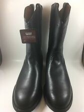 """Mens ARIAT Heritage Roper Boots Size 10 W Roper Toe 10"""" Height."""