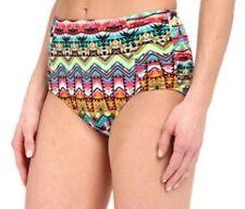 NWT JANTZEN Tulum High Waist Bikini Swim Bathing Suit Bottom Size 12 $68