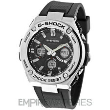 *NEW* CASIO G-SHOCK MENS G-STEEL TOUGH SOLAR WATCH - GST-S110-1A - RRP £295
