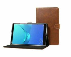 "Genuine Luxury Leather Case For Huawei MediaPad T5 10 10.1"" T3  8""M6 M5 M3 Lite"