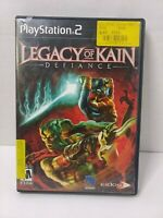 Legacy of Kain: Defiance (Sony PlayStation 2, 2003) PS2 Complete CIB GOOD