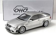 1:18 otto MERCEDES CLK 63 AMG Black Series SILVER NEW in Premium-MODELCARS