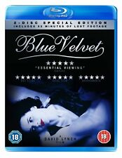 Blue Velvet (BLU-RAY) (NEW AND SEALED) (REGION 2) (FREE POST)