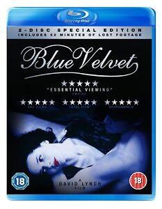 Blue Velvet (BLU-RAY) (NEW AND SEALED) (REGION 2) (FREE POST)