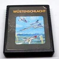 Atari 2600 Spiel Game Modul - Wüstenschlacht - Cartridge Videospiel