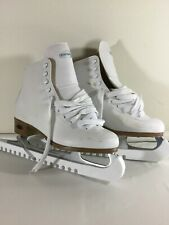 Riedell Size 6 Model 112W White Ice Skates Women's Ladies Girls