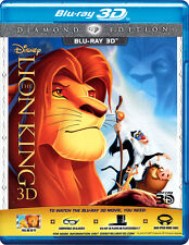The Lion King (Blu-ray 3D) (1994) (All Region) (New)