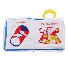 Baby Soft Cloth Book Early Development Toys Basic Life Skills Learning