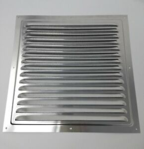 300 x 300mm Grill Air Vent - Metal - Aluminium Rust Free with Mosquito / Bug Net