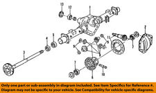 GM OEM Rear-Axle Seals 19180849