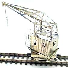 "Z-scale Nickel Silver etched Kit, Old era Crane ""Nagel & Kamp"""