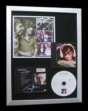 TONY VISCONTI+DAVID BOWIE+SIGNED+FRAMED+AMERICANS=100% GENUINE+FAST+GLOBAL SHIP