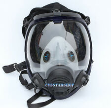 Chemical Paint Spray Gas Mask Respirator Similar For 3M 6800 Full Face Facepiece