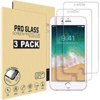 3X Gehärteter Glas Für iPhone 7 iPhone 8 Echt Glas Schutzglas Schutzfolie 9H