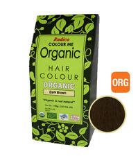 RADICO Dark Brown Organic Hair Colour 100g ( Made from Henna & Herbs )