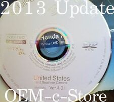 2013 Update 2010 2011 2012 Honda Accord Crosstour Navigation DVD Map U.S Canada