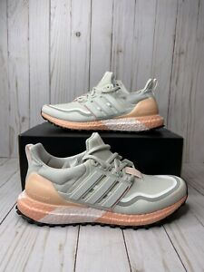 Adidas Ultraboost Guard Womens Size 7 Trail Running Shoes Grey Pink FW5482 New