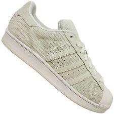 Adidas Originals Superstar II Femmes Chaussures de sport CUIR GRIS PERFORÉ