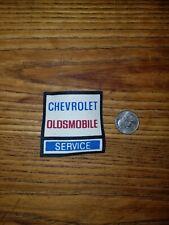 Chevrolet Oldsmobile Service Uniform driver patch vintage nos iron on