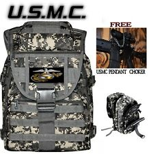 MARINES USMC Tactical Backpack MOLLE Military Duty Bag + FREE SHIPPING & GIFT