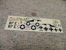 Revell Monogram decals 1/48 Focke Wulf 190 and P-51 Air Combat Series F150