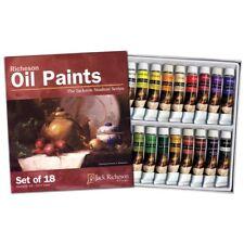 Richeson 18-Color Oil Paint Set  - 18-Color Set