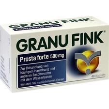 GRANU FINK Prosta forte 500 mg Hartkapseln 40 St PZN 10011915