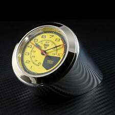 Rev Counter Desk Clock Ferrari Classic Yellow